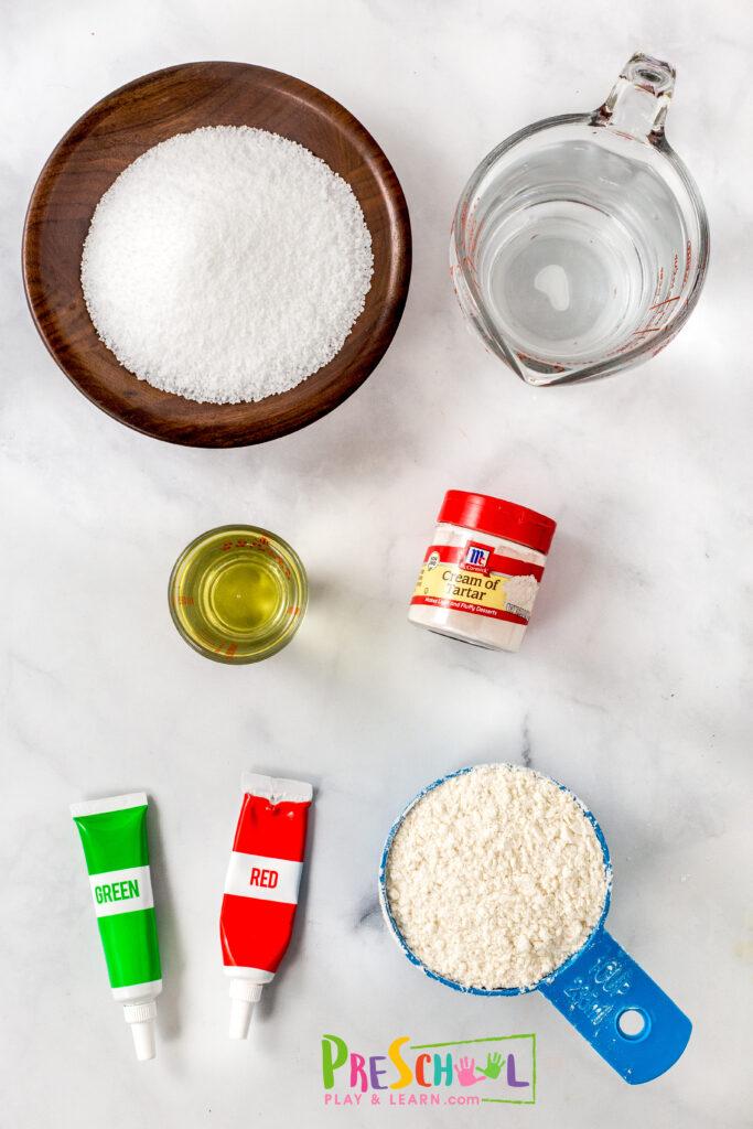 Apple playdough recipe