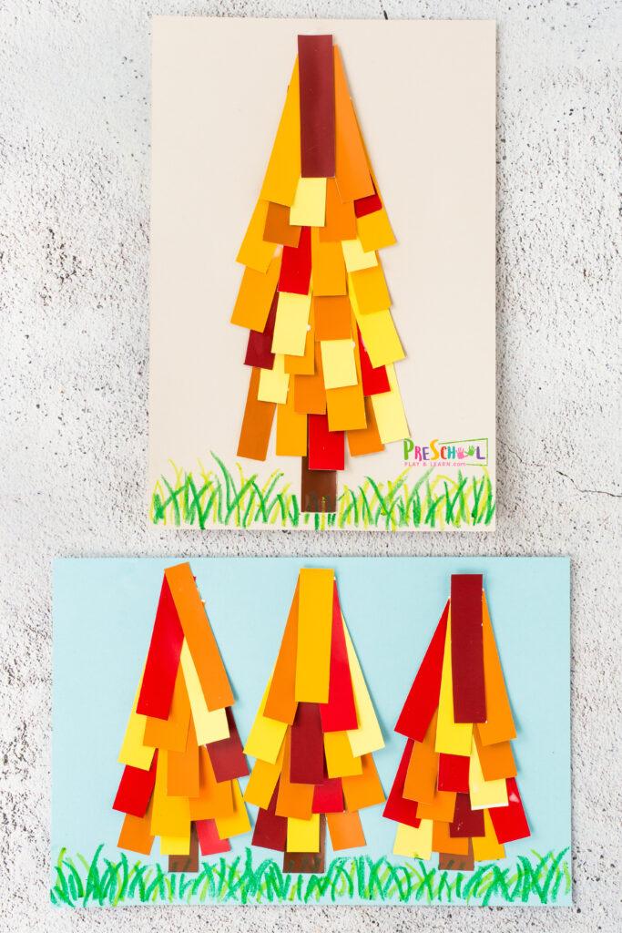 Fall craft for preschoolers
