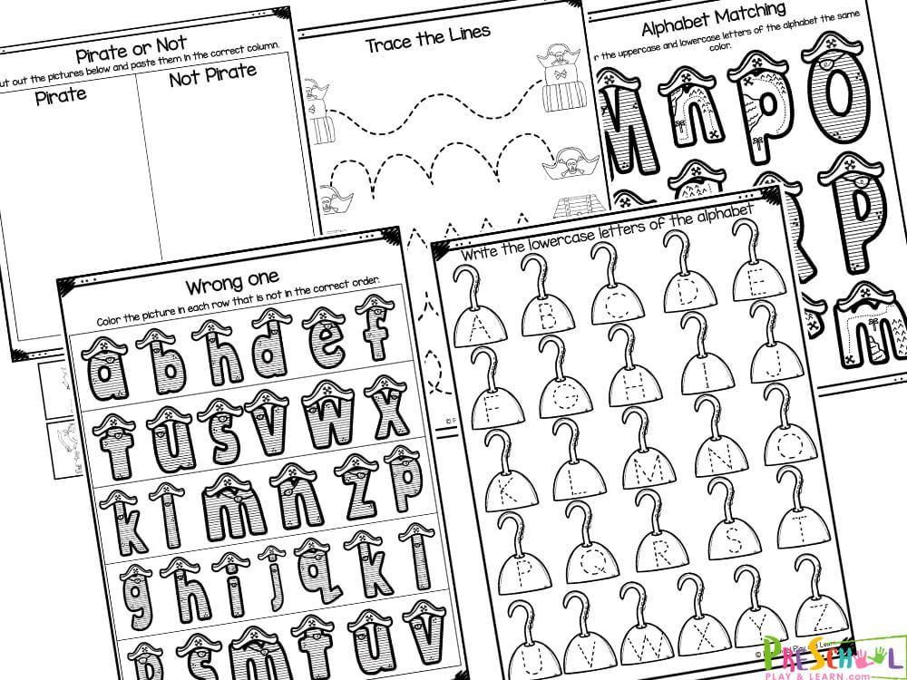 Pirate Activities for Preschool