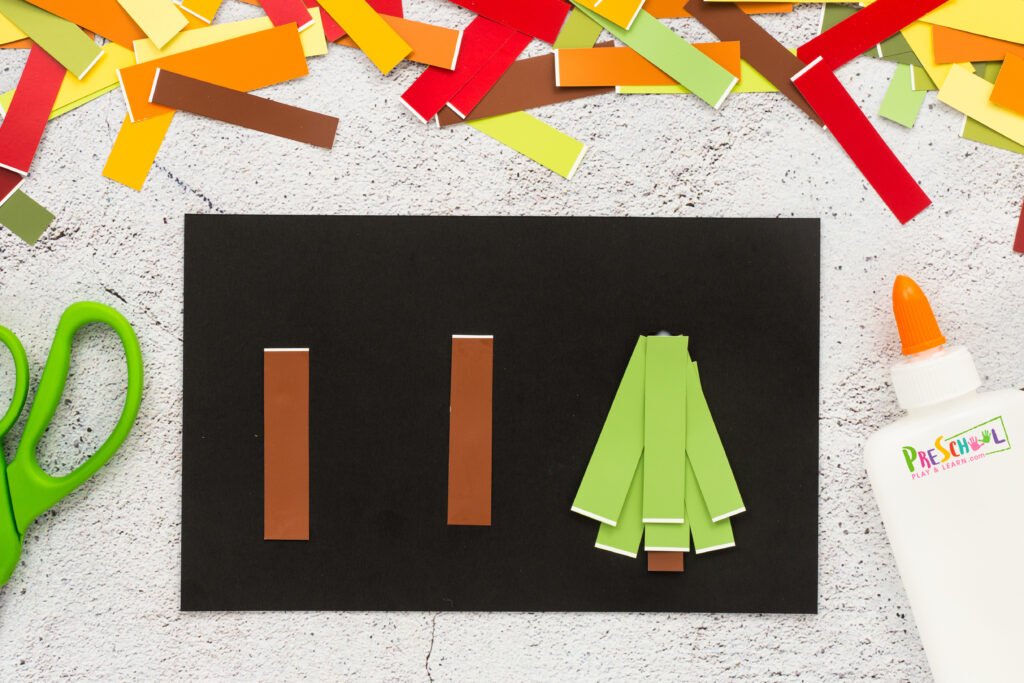 Tree art projects for preschoolers