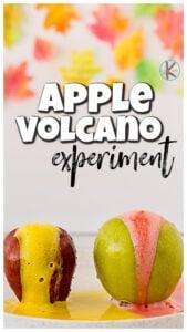 apple volcano science apple activities