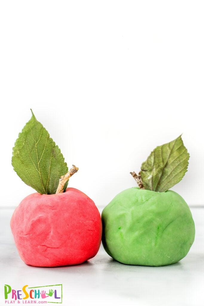 apple activity for preschoolers