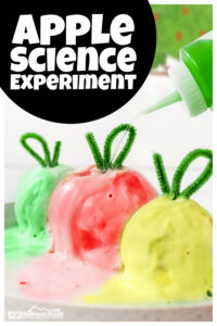 melting apple experiment