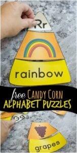 candy corn alphbaet phonics puzzles
