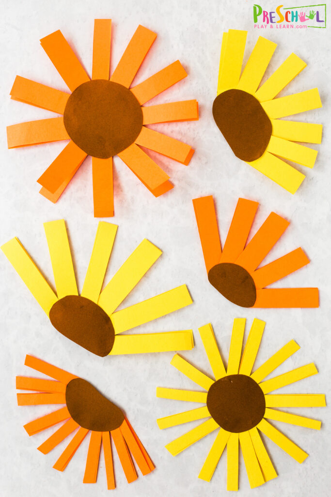 flower art project for kids