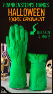 frankenstein hands Halloween-Science-Experiment