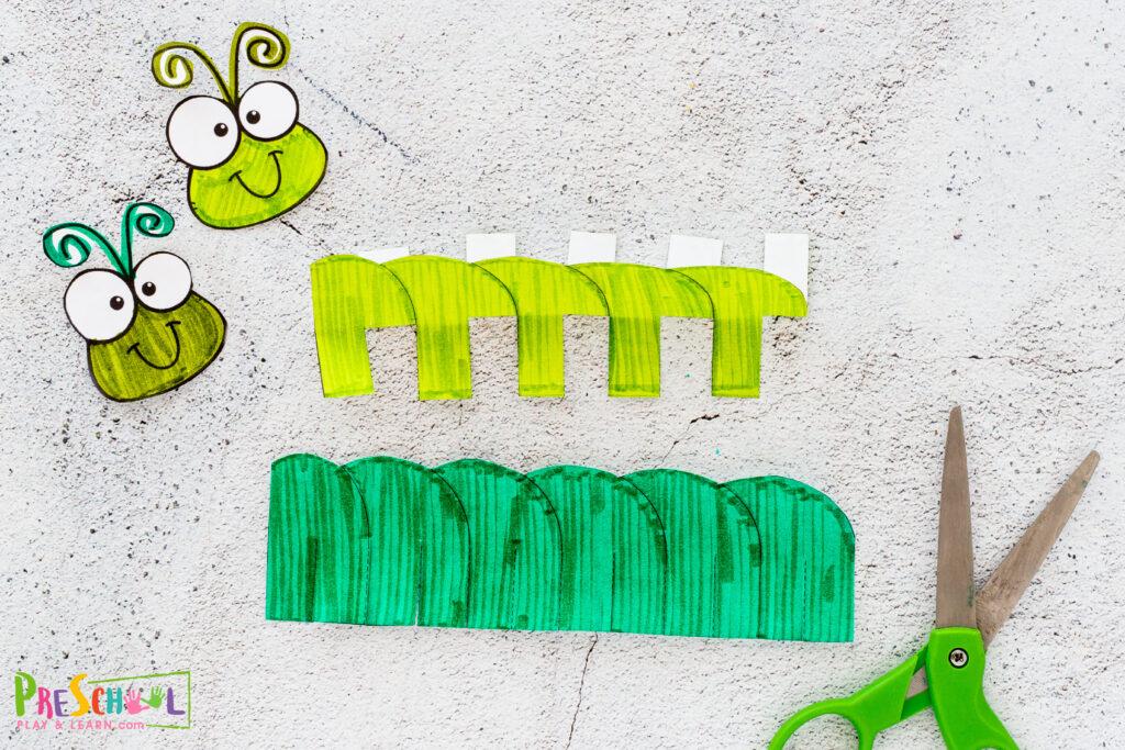 how to make a caterpillar