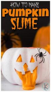 how to make pumpkin slime