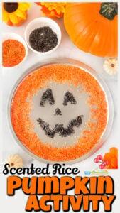 scented rice pumpkin activities