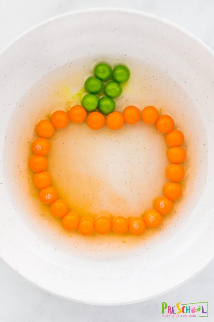 pumpkin science expeirment