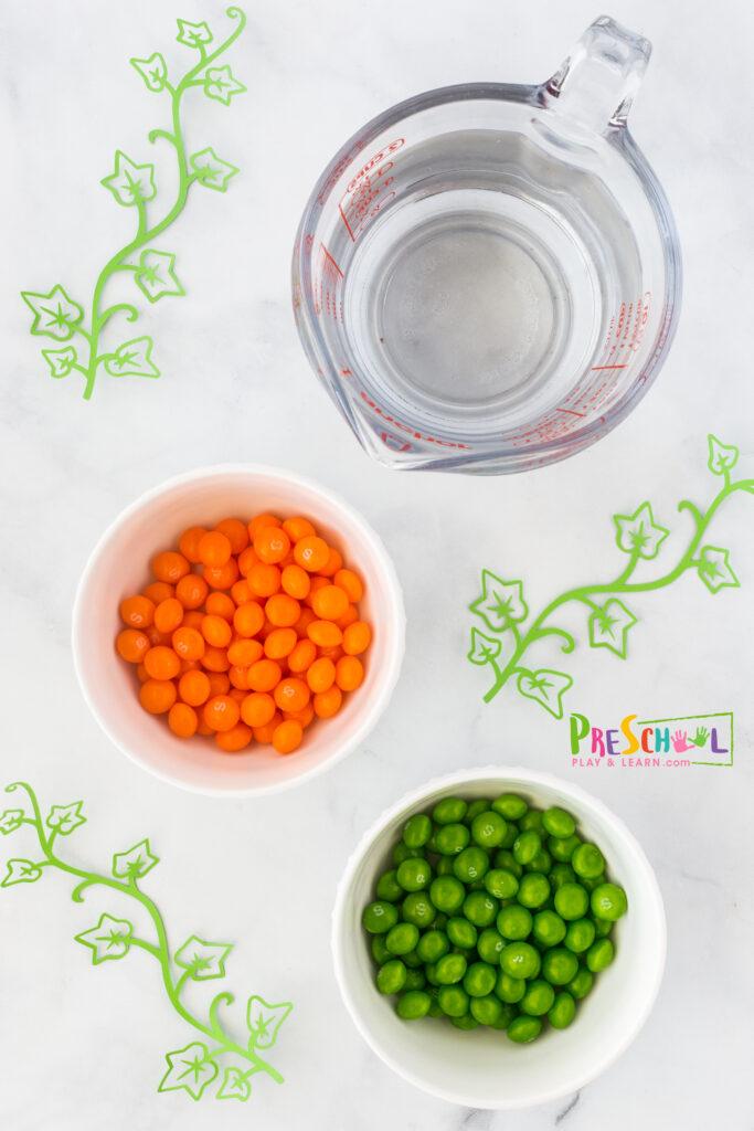 skittles - halloween version is super handy flat plate, pie pan, or dish hot water