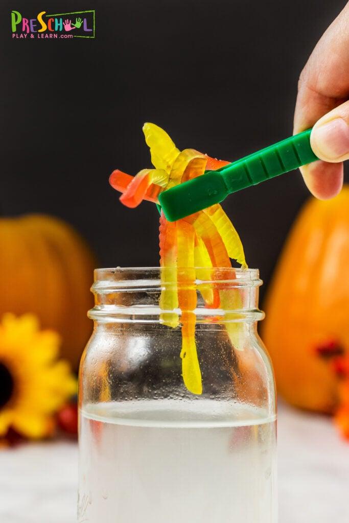 gummy worm activities